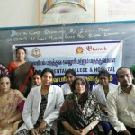 The Teachers of the School , alongwith the Director- I CAN TRUST and the team of Doctors from Sri Balaji Dental College & Hospital